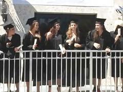 College beauty prefers oral stimulation