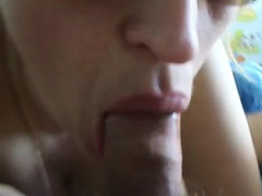 Euro cum swallow with whore that is filthy