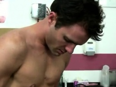 Xxx doctor jerking off gay man cumming Leaned over the table