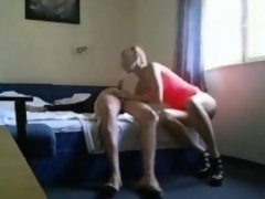 Extremely Hot Cheating Her Partner With Fuckbuddy