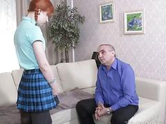 Kira Roller put on a tail to tease her old teacher