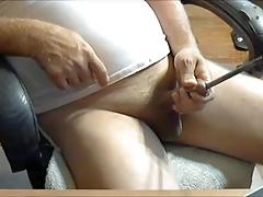 Large nail down my dick.mp4