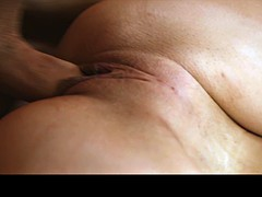 Hunky guy bangs a pierced babe in bed
