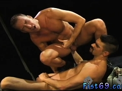 Two black men having rough gay sex and male to sites Club In