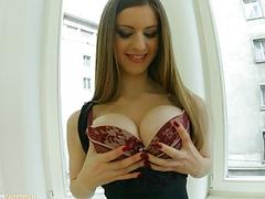Stella Cox with big tits on Primecups having hardcore gonzo sex