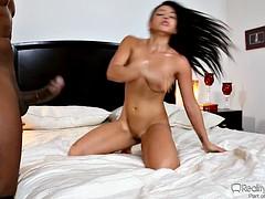 Adrianna luna has sex with her black lover