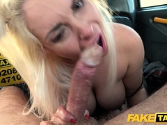 Fake Taxi Blonde MILF Victoria Summers banged
