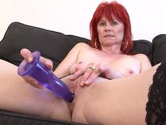 Mature Lady Interracial Hardcore Pussy Fucked Swallows