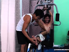 Asian Twink Idol Tied and Tickled