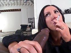 Nikki Benz gets a dirty face