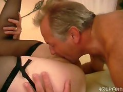Older German couple get it on