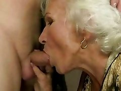 Granny getting fucked hard in public toilet