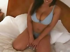 Italian Bitch gets fucked by her first BBC eats cum